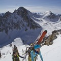 Thomposon Peak (left) and Mount Carter (right) in the background.- Ski Bum Sweethearts' Best Romantic Getaways