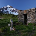 The McNeil Point Shelter beneath Mount Hood.- 10-mile Hikes You Can't Miss