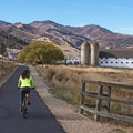 Smooth bike paths at McPolin Farm near Park City, Utah.- Beyond Brunch: Adventures Worthy of Your Mother