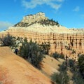 Boat Mesa sits right in the middle of the Fairyland Loop.- Bryce Canyon National Park