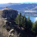 Angel's Rest, a Portland-favorite, is also being impacted by the fire.- Devastating Eagle Creek Fire in the Columbia River Gorge