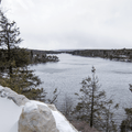 Peer over cliffs at Minnewaska State Park Preserve for commanding views of Lake Awosting.- 9 Must-See New York State Parks