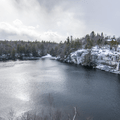 Lake Minnewaska scenic viewpoint.- Hudson Valley's 12 Best Winter Adventures