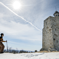 Snowshoeing to the summit at Skytop Tower.- The Best Winter Adventures in North America