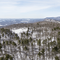 Mohonk Preserve: Looking south from the carriage road.- Hudson Valley's 8 Best Snowshoe Adventures
