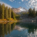 Bays Lake on the Jefferson Park Hike.- 15 Perfect Day Hikes to Find Fall Foliage