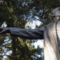 The Harvey W. Scott statue at the top of Mount Tabor.- City Parks You Definitely Need to Visit