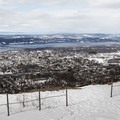 Gazing west over the Hudson River Valley from the Mount Beacon Fire Tower.- 12 North American Mountain Towns Perfect for Winter Adventure