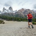 Run with a view. Parque Nacional Torres del Paine.- 12 Months of Adventure: February - Adventure Training + Fitness