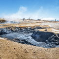One of several large bubbling mud pits at Hverir.- 14 Must-Do Activities In Iceland