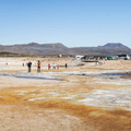 The colorful geothermal field.- Guide to Iceland's Ring Road