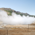 Sulphur steam clouds crossing the land.- 14 Must-Do Activities In Iceland
