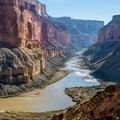 Nankoweap offers one of the longest views down river.- The Colorado River Ecosystem