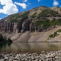 Morat Lake in Naturalist Basin.- Where to Hike In Utah's Uinta Mountains