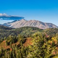 One of the many views of the mountain from the Mount Nebo Scenic Byway.- The West's Best Hikes for Fall Colors