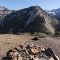 Looking from the Mount Olympus Wilderness into the Twin Peaks Wilderness below. - Mount Olympus Wilderness