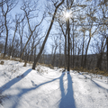 The west side of North Point.- Hudson Valley's 8 Best Snowshoe Adventures