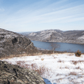 Storm King mountain and the Hudson Valley.- Hudson Valley's 12 Best Winter Adventures