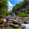 Opening to view of Cummins Falls. - 10 Must-Do Hikes Near Nashville, Tennessee