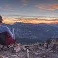 Peak 10,420 isn't a bad place to watch a sunset.- 6 Days of Adventure in Utah's Wasatch Mountains