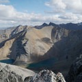 View from the summit of Mount St. George looking east.- Northern Rockies Adventures Not to Miss in Canada
