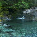 Hiking along Opal Creek.- Best Fall Hikes Near Portland