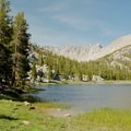 Campsite on the return from Mount Whitney en route to Cottonwood Pack Station.- California's Best Backpacking Trips