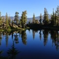 The second campsite of the trip at Triangle Lake.- Best Places for Sasquatch Spotting