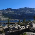 The glaciated basin that holds Lake Aloha.- Amazing Alpine Lakes