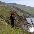 The Lost Coast Trail follows the coast where Northern California's King Range plummets into the seas.- 30 Must-Do Adventures in California