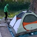 Moose Lake campsite. Pass up the first few campsites to find great spots further down.- 70 Breathtaking Backcountry Campsites