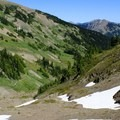 A big valley view near Obstruction Point.- High Altitude Hikes to Rise Above the Heat