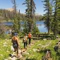 Hiking around Lake Washington in the Uinta Mountains.- Utah's 5 Essential Outdoor Towns