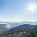 View from Overlook Mountain. - The 8 Best Hikes in New York's Catskills