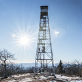 Overlook Mountain fire tower.- The 5 Remaining Catskill Fire Towers