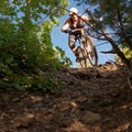 Bennie Creek: One of the rocky sections.- Salt Lake City's 17 Best Mountain Bike Rides