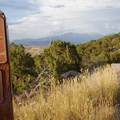 Lower trails marker at Mountain Ranch.- Adventure in the City: Salt Lake City