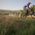 Stumpjumper/Stumpy: Creek gap in an open meadow.- Salt Lake City's 17 Best Mountain Bike Rides