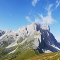 The Puez Group in the Dolomites are a fantastic backdrop for the hike along the Alta Via.- 10 International Treks for your 2019 Bucket list