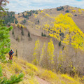 Wasatch Crest Mountain Bike Trail.- The West's Best Hikes for Fall Colors