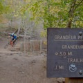 Riding the Mill Creek Pipeline Mountain Bike Trail through the junction.- Salt Lake City's 17 Best Mountain Bike Rides
