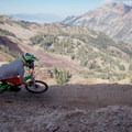 Railing one of the new berms on the Big Mountain Trail.- Salt Lake City's 17 Best Mountain Bike Rides
