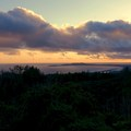 Sunset over Point Reyes from Sky Camp.- Guide to Bay Area Camping