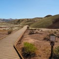 A Painted Hills ADA trail.- Painted Hills Unit