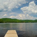 Looking out across the lake.- 12 New York Lakes Perfect for Summer Adventure