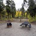 A campsite in Parry Peak Campground.- Highway 82: A Sawatch Road Trip