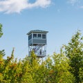 South Mountain Fire Tower in Pawtuckaway State Park.- New Hampshire's Best Lakes for Summer Adventure