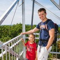 The fire tower on top of South Mountain in Pawtuckaway State Park allows adventurers of all ages to enjoy the view. - 20 Best Family-Friendly Adventures in New Hampshire