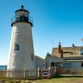 Pemaquid Lighthouse.- An Adventure Guide to the Maine Coast