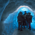 Exploring Perlan, an artificial ice cave.- 14 Must-Do Activities In Iceland